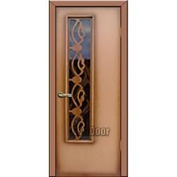 Дверь межкомнатная МДФ крашеная №74