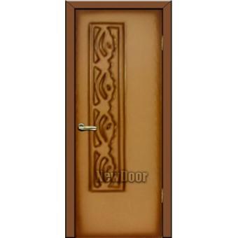 Дверь межкомнатная МДФ тонированная №75
