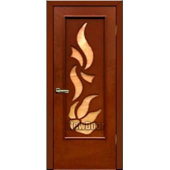 Дверь межкомнатная МДФ крашеная №76