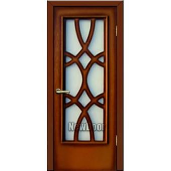 Дверь межкомнатная МДФ тонированная №78