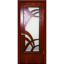 Дверь межкомнатная МДФ крашеная №84