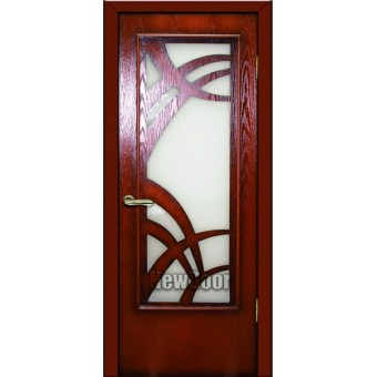 Дверь межкомнатная МДФ тонированная  №84