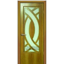 Дверь межкомнатная МДФ патина №90