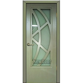 Дверь межкомнатная МДФ тонированная №91