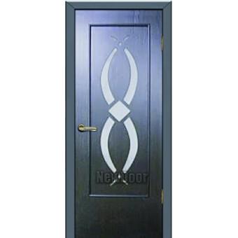 Дверь межкомнатная МДФ тонированная №92