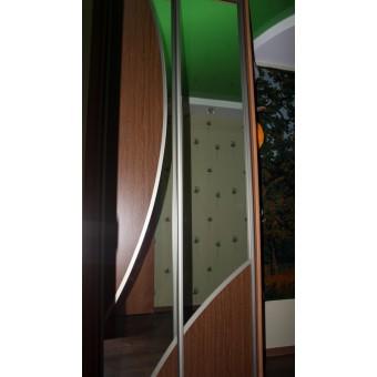 Шкаф-купе с зеркалом на заказ в Минске № 012