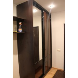 Шкаф раздвижной с зеркалом на заказ № 03