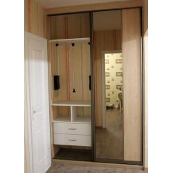 Шкаф раздвижной в прихожую на заказ № 018