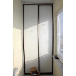 Раздвижной шкаф для балкона № 023