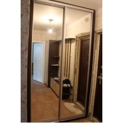Шкаф зеркальный в прихожую в Минске № 024