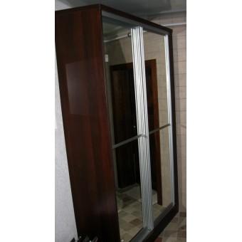 Шкаф-купе зеркальный на заказ в Минске № 032