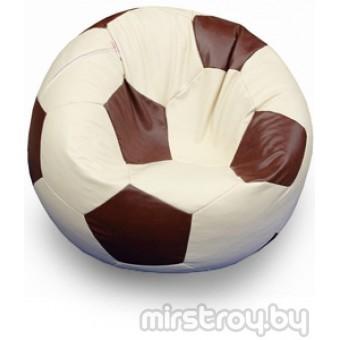 """Бескаркасное кресло Мяч """"Бежево коричневый"""""""
