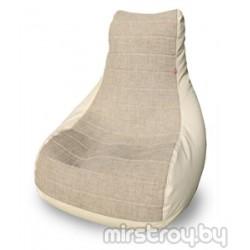 """Бескаркасное кресло Бумеранг """"Милк"""""""
