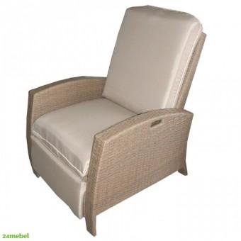 Кресло Релакс из искусственного ротанга